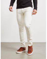Nudie Jeans Lean Dean Jeans White