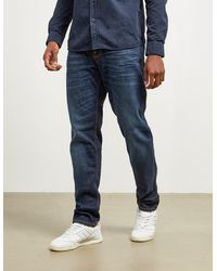 Nudie Jeans Steady Eddie Jeans Dark Blue
