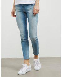 BOSS - Womens J11 Skinny Jeans Blue - Lyst