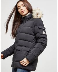 Pyrenex - Womens Authentic Smooth Padded Jacket Black - Lyst