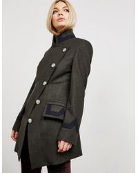 Vivienne Westwood Anglomania State Coat Green
