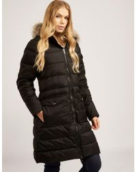 Pyrenex - Womens Authentic Coat Black - Lyst