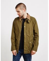 Barbour - Mens Made For Japan Garment Dyed Bedale Jacket Green - Lyst