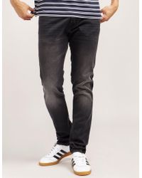 Edwin - Mens Ed85 Slim Fit Jeans Black - Lyst