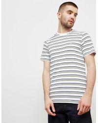 Barbour - Mens Duxford Short Sleeve T-shirt White - Lyst