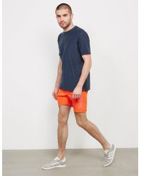 Napapijri - Mens Varco Swim Shorts Orange/orange - Lyst