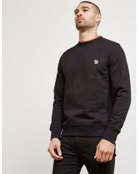 PS by Paul Smith | Mens Zebra Crew Sweatshirt Black | Lyst