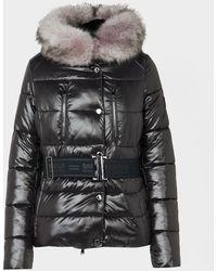 Barbour Chromium Quilted Jacket - Black