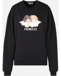 Fiorucci Vintage Angel Sweatshirt - Black