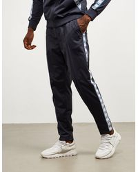 Armani Exchange Tape Track Trousers Navy Blue