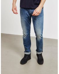Emporio Armani Soft Slim Fit Jeans Blue