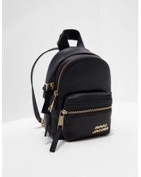 Marc Jacobs - Micro Backpack Black - Lyst