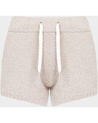 UGG Noreen Fluff Shorts - Grey