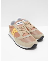 Saucony - Mens Jazz Og Brown - Lyst