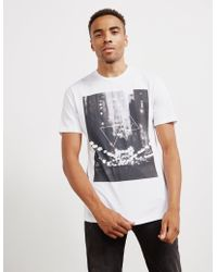 Pal Zileri - Mens Blur City Short Sleeve T-shirt White - Lyst