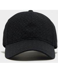 Calvin Klein Monogram Cap - Black