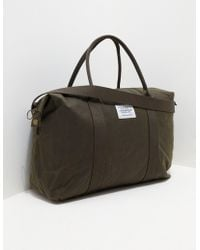 Barbour - Mens Archive Holdall Green - Lyst