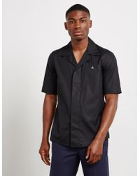 Vivienne Westwood Open Short Sleeve Shirt Black