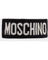 Moschino Knitted Headband - Black