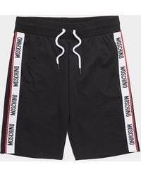 Moschino - Side Tape Shorts - Lyst