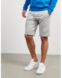 HUGO - Mens Hano3 Shorts Grey - Lyst