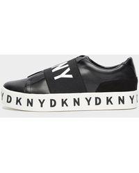 DKNY Becky Logo Trainers - Black