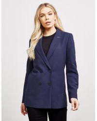HUGO Button Blazer Navy Blue