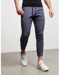 Armani Exchange 3m Reflective Fleece Trousers Blue