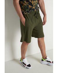 Tezenis Pantalones Cortos de Algodón Piqué - Verde