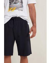 Tezenis Pantaloncino Cotone Piquet - Blu