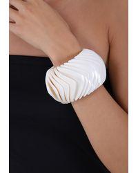 Monies Shell Bracelet - White