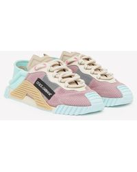Dolce & Gabbana Ns1 Low Top Sorrento Sneakers In Mixed Materials - Multicolor