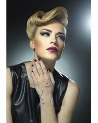 YEPREM Diamond Hand Piece Bracelet In 18-karat Onesize - Multicolour