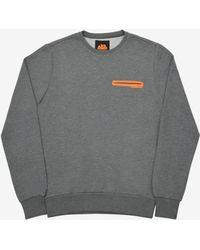 Sundek Yago Cotton Blend Sweatshirt - Gray