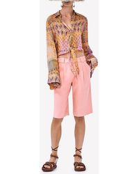 Alexis Abbot Crepe Shorts Xs - Pink