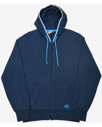 Sundek Loriano-fleece Cotton Sweatshirt - Blue