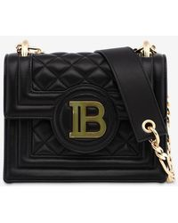 Balmain X Cara Delevingne Bbox Quilted Leather Bag - Black