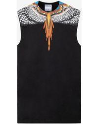 Marcelo Burlon Grizzly Wings Sleeveless T-shirt S - Black