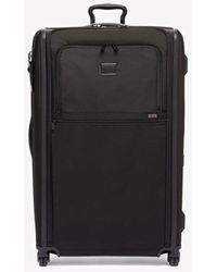 Tumi Alpha Worldwide Trip Expandable 4-wheeled Packing Case - Black