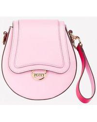 Emilio Pucci Occhi Print Dora Mini Calfskin Cross-body Bag - Pink