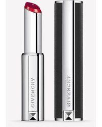 Givenchy Le Rouge Liquide Velvet Finish Lipstick - N° 410 Rouge Suedine - Red