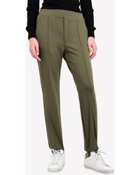 Golden Goose Deluxe Brand Dele Stirrup Track Trousers - Green