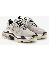 Balenciaga Triple S Sneakers - Natural