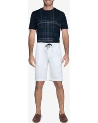 Canali Cotton Drawstring Bermuda Shorts It 50 - White