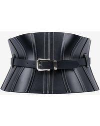 Mugler Corset Waist Belt - Black