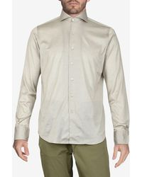 Canali - Regular-fit Cotton Shirt - Lyst