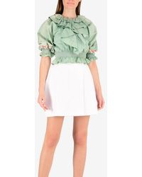 Temperley London Spell Bound Top - Green