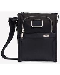 Tumi Alpha Pocket Small Crossover Bag - Black