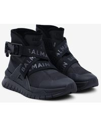 Balmain B Troop High-top Trainers - Black