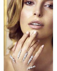 YEPREM Y-conic Ring With 18-karat Diamond Embellishments Onesize - Multicolour